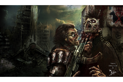 Concept images of cancelled Dead Nation 2, The Walking ...