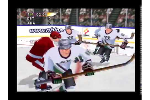 NHL Blades of Steel '99 Full Game - Detroit Red Wings vs ...