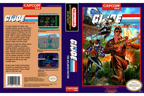 GI Joe - The Atlantis Factor | Top 80's Games