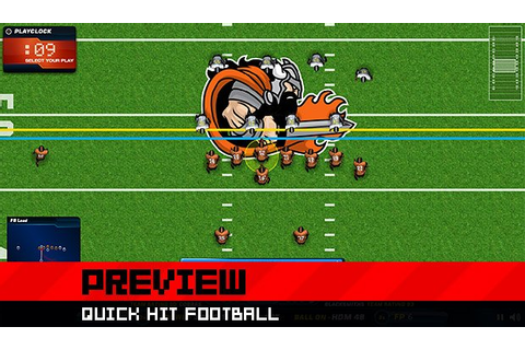 Quick Hit Football: A football strategy RPG