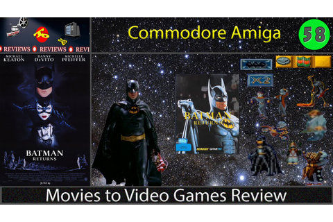 Movies to Video Games Review -- Batman Returns (Amiga ...