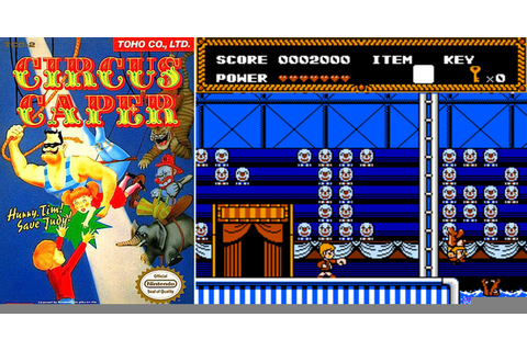 Play Circus Caper on NES