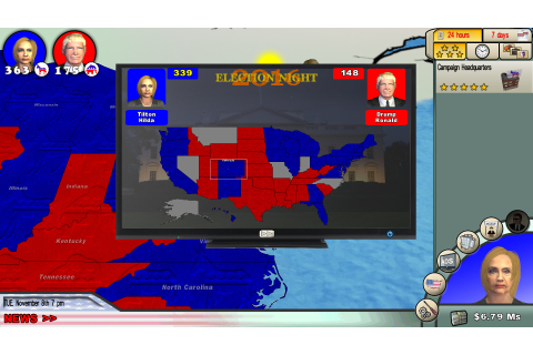 The Race for the White House 2016 Review – Brash Games