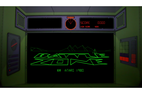 Battlezone arcade pcb by Atari, Inc. (1980)