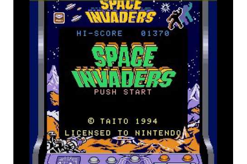 Let's Play Space Invaders For the Super Game Boy All Modes ...