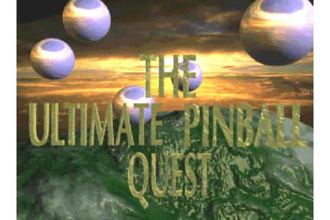 Ultimate Pinball Quest, The : The Company - Classic Amiga ...