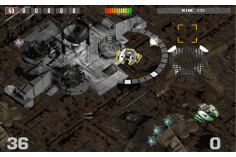 Fire Fight PC CD overhead space ship shooter action arcade ...