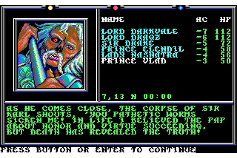 Death Knights of Krynn Download (1991 Role playing Game)