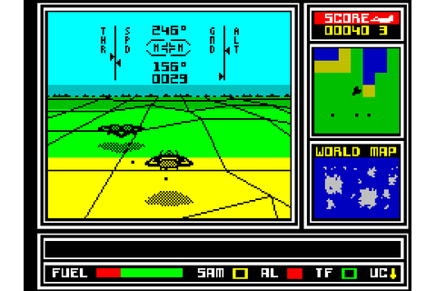 ATF: Advanced Tactical Fighter (1988) ZX Spectrum game