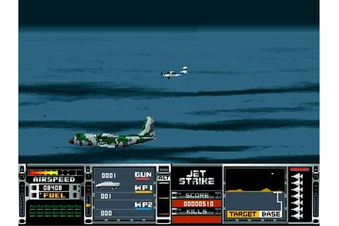 Jetstrike Download (1994 Arcade action Game)