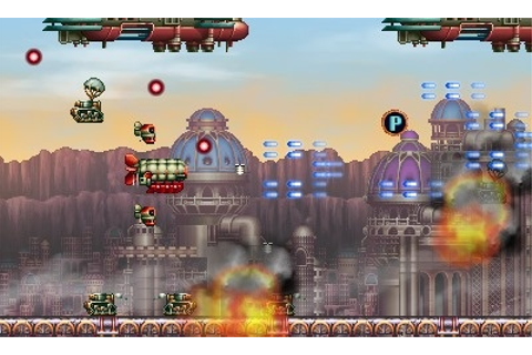 3DS Shmup Steel Empire, shooting for a summer release ...