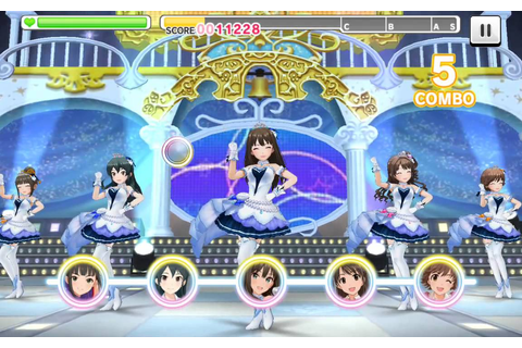 Idolm@ster android game! - YouTube