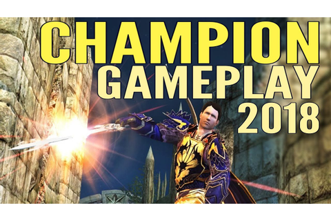 LOTRO Champion Gameplay 2018 - Lord of the Rings Online ...
