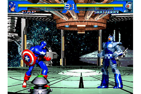 Avengers in Galactic Storm (1996) by Data East Arcade game