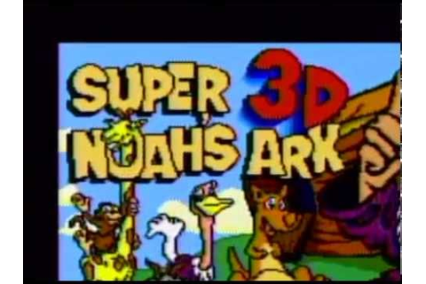 Super Noah's Ark 3D (SNES Game) - AVGN Episode Segment ...