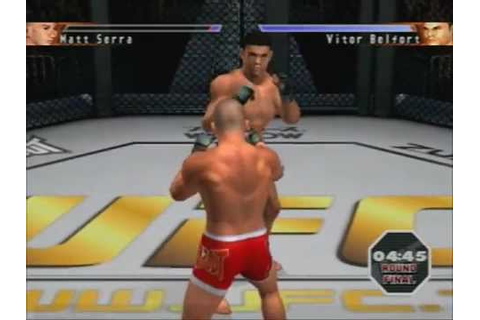 [PS2] UFC Sudden Impact Gameplay - YouTube