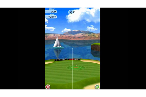 Flick Golf game play - YouTube