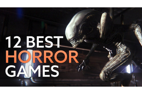 The 12 best horror games on PC - YouTube