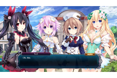 Cyberdimension Neptunia: 4 Goddesses Online - Talking ...