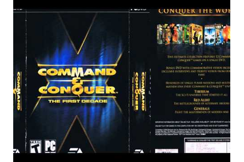 Command & Conquer: The First Decade (Wikipedia Page) - YouTube