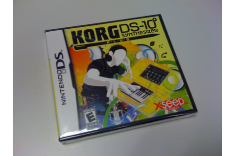 Gameritis: Korg DS-10 Synthesizer Plus and playing non-games