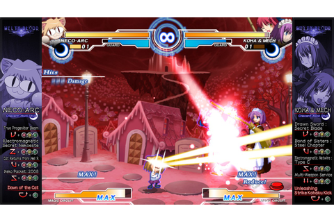Melty Blood: Actress Again - Current Code | MMOHuts