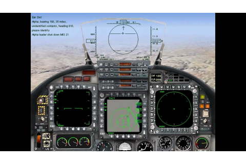 Jane's Israeli Air Force / כוכב כחול -- Playing the Demo ...