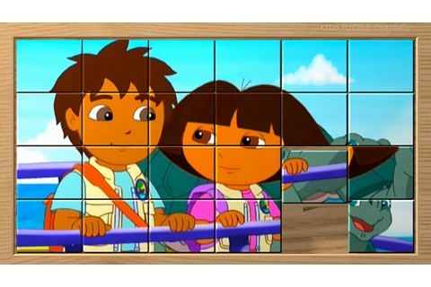 GO, DIEGO, GO! Diego and Dora Box Puzzle Game for Kids ...