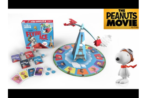 Snoopy Flying Ace Game from Wonder Forge - YouTube