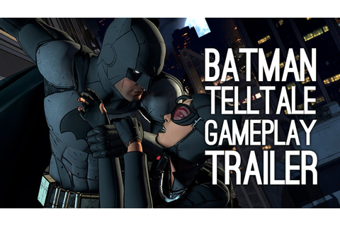 Batman Telltale Gameplay Trailer - First Gameplay Trailer ...