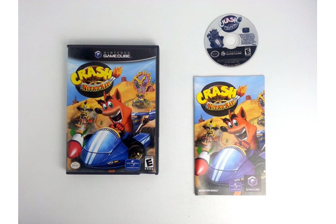 Crash Nitro Kart game for Gamecube (Complete) | The Game Guy