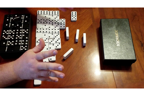 DOMINOES THE BEST DOMINO SET I HAVE FOUND TO PLAY WITH ...
