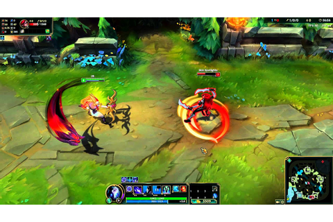 Shadowfire Kindred Skin Spotlight - League of Legends ...