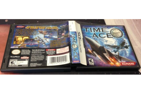 Time Ace - Nintendo DS Game Complete Video Game RARE | eBay