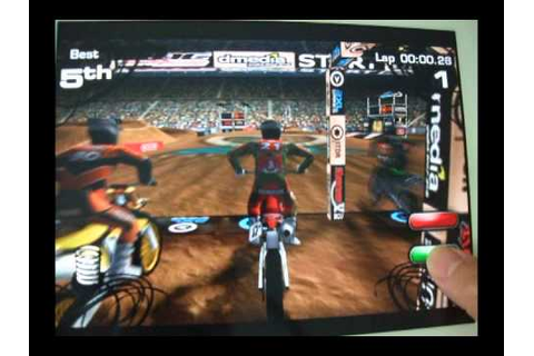 2XL Supercross 2010 HD Lite iPhone iPad Game Review - YouTube
