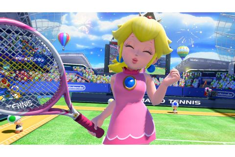 ... latest batch of screenshots for Mario Tennis: Ultra Smash on Wii U