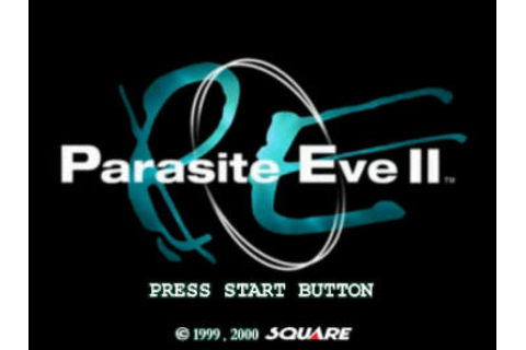 Parasite Eve II (1999) by Square PS game