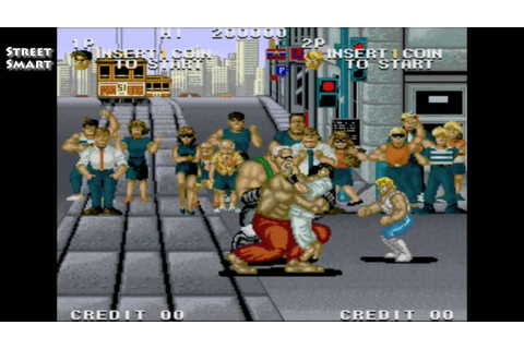Street Smart / attract mode arcade demo / SNK 1989 - YouTube