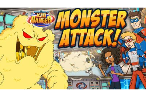 The Adventures of Kid Danger: Monster Attack! Action Game ...