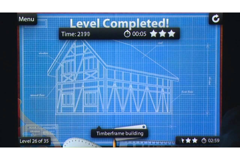 Blueprint 3D iPhone Gameplay Review - AppSpy.com - YouTube