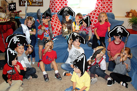 Pirate Party Children's Games | Snickerplum's Party Blog ...