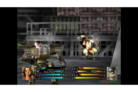 Front Mission 3 - Gameplay PSX / PS1 / PS One / HD 720P ...