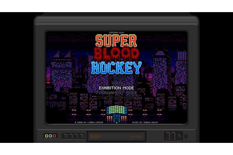 Super Blood Hockey Review - Sports Gamers Online