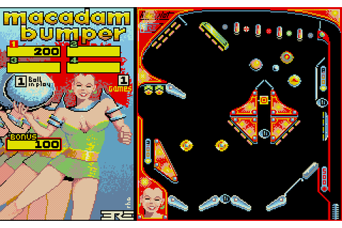 Macadam Bumper (1986) by ERE Informatique Atari ST game