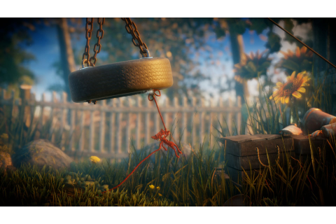 Unravel strings players along in a pretty 2D world of ...