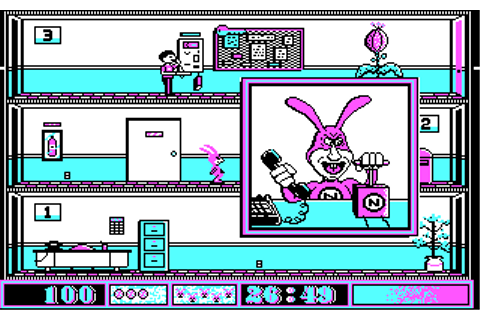 Avoid The Noid | Old DOS Games | Download for Free or play ...