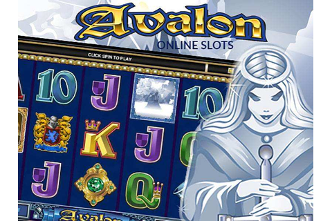 Avalon Slot Game (microgaming) with Bonus Rounds & Free Spins