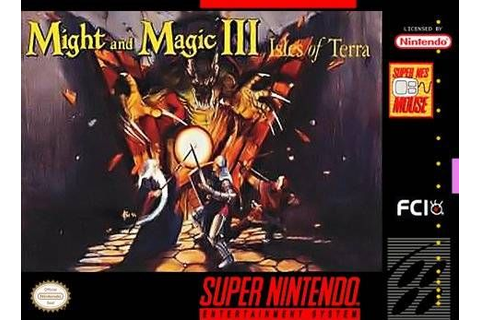 Might and Magic III : Isles of Terra - Jeux - RomStation