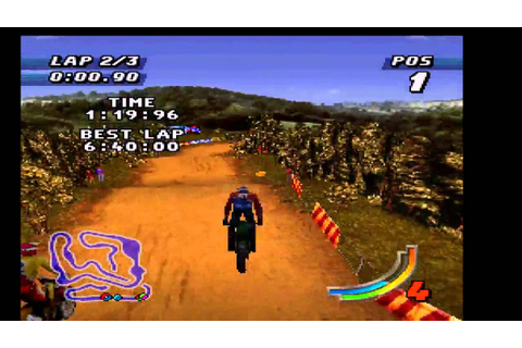 Jeremy McGrath Supercross '98 (PSX) - Vizzed.com GamePlay ...
