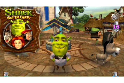 Shrek: Super Party ... (PS2) - YouTube